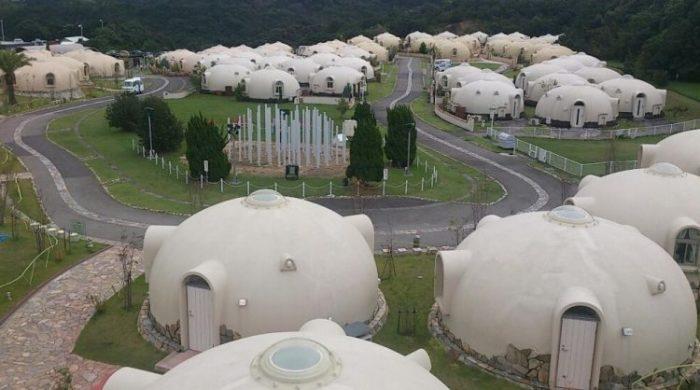 Японская компания начала строительство пенопластовых домов только несколько лет назад, но они уже стали популярными во всем мире / Фото: fshoke.com