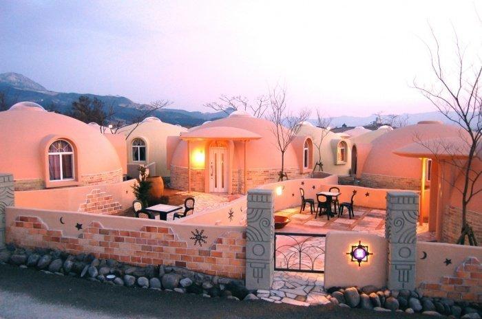 Японские пенопластовые дома рассчитаны на установку в любой местности / Фото: nevsedoma.com.ua