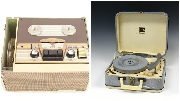 Первой серийной стерео-аппаратурой стал американский магнитофон RCA / Фото: reverb.com