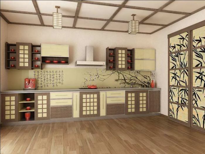 Микроволновку на китайской кухне вряд ли удастся найти / Фото: yandex.ua