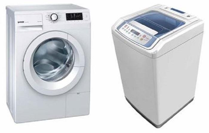 В китайских квартирах можно встретить оба типа стиральных машинок / Фото: atombuddy.pk