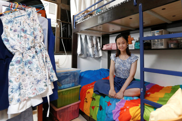Основную часть помещения занимает кровать / Фото: todayonline.com