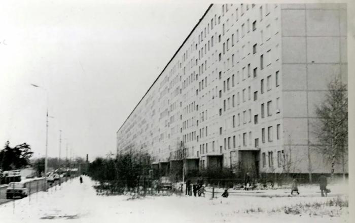 Дом был построен из трех из трех зданий в 1969 году / Фото: local.yandex.ru