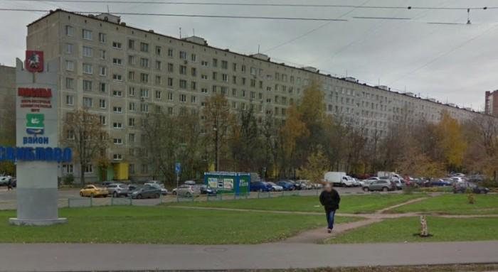 Жилое здание на Беринговом проезде - самый длинный типовой дом И-515/9ЮЛ в Москве / Фото: flatinfo.ru