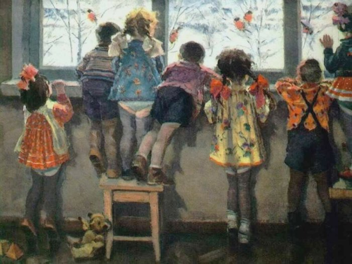 Лифчики мальчики носили до достижения младшего дошкольного возраста / Фото: yandex.ua
