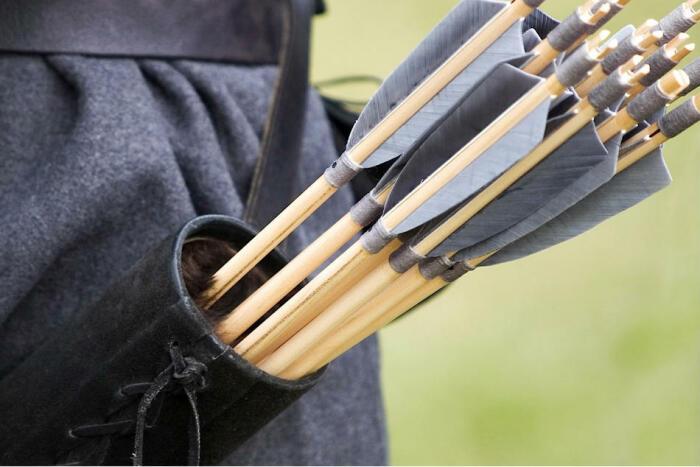 В реальности на поле боя простой лучник был эффективен всего на протяжении четырех-восьми минут, до момента, пока стрелы не заканчивались / Фото: mykhel.com