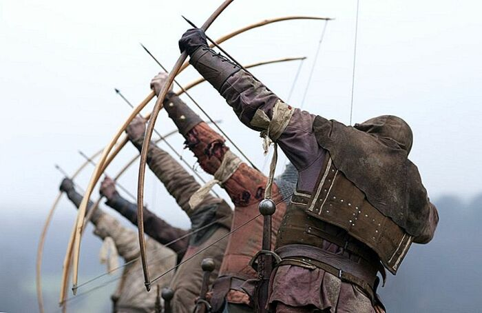 Каждый из лучников мог выпустить за одну минуту около десяти стрел / Фото: ru.littlestprettythings.com
