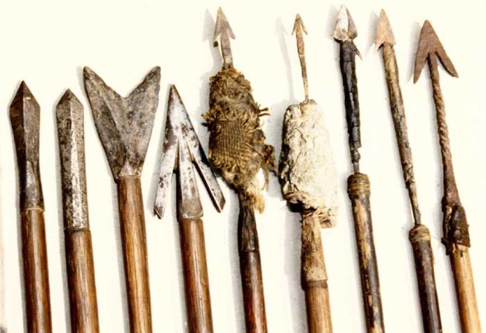 Для тяжелых стрел, предназначенных для дальней стрельбы, кузнецы изготавливали наконечники из железа повышенной твердости / Фото: fishki.net