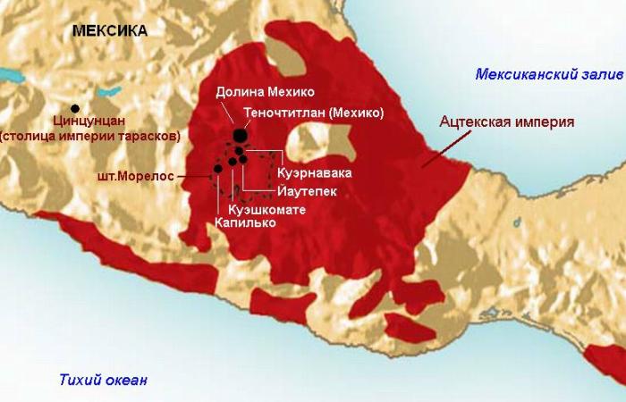 В 1325 году индейское племя ацтеков стало жить на озере Тескоко, так был основан Теночтитлан / Фото: indiansworld.org