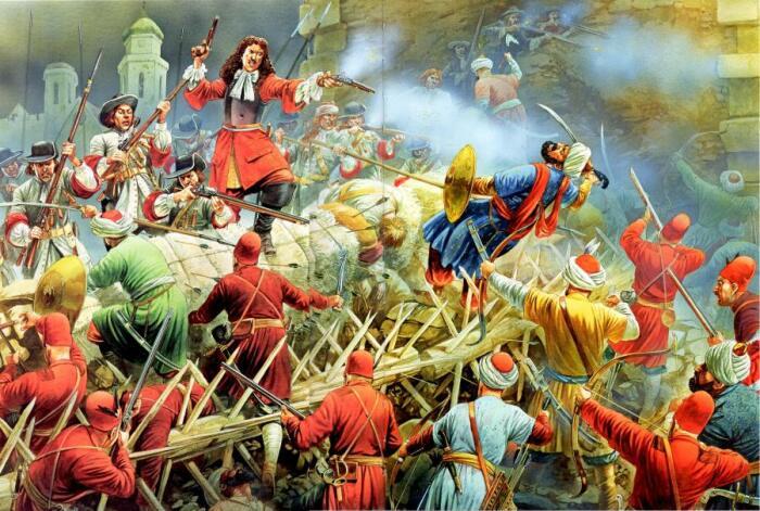 Западные армии стали более прогрессивными и получили над османами явное преимущество / Фото: hofkriegsrat.blogspot.com