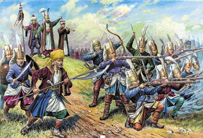 Во времена Мехмеда Завоевателя финансирование турецкой армии осуществлялось за счет грабежа покоренных государств / Фото: 1zoom.ru