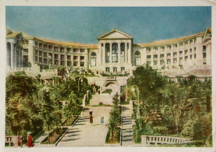 Фто санатория можно было часто увидеть на открытках в СССР / Фото: ay.by