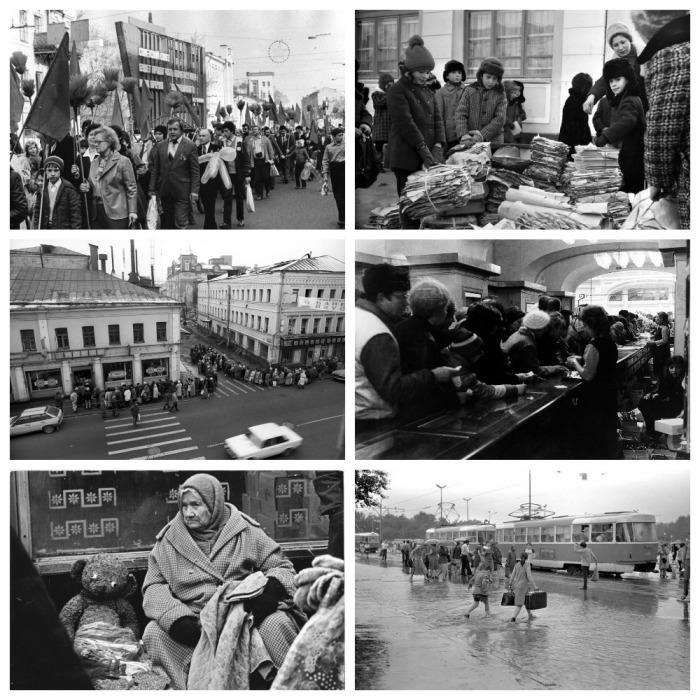 Жизнь в СССР / Фото: fotointeres.ru