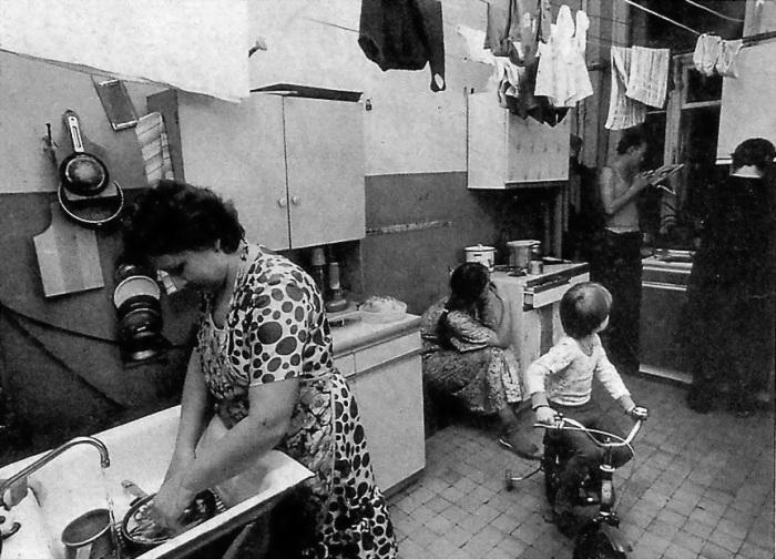 Советская коммунальная квартира / Фото: hollivizor.ru