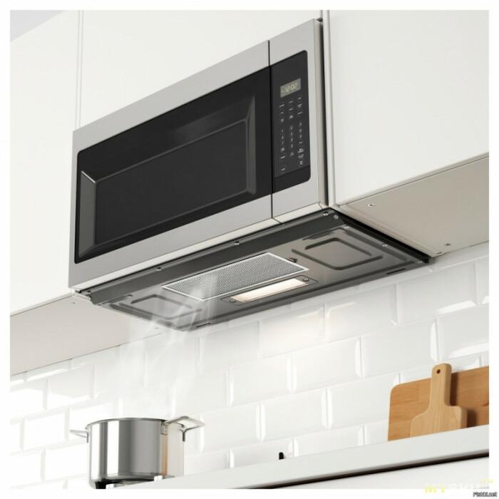 В корпус микроволновой печи заключено второе устройство – турбина и канал для вентиляции / Фото: mysku.me