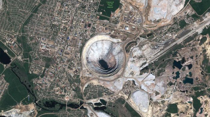 Карьер «Мир» является одним из наиболее богатых алмазных месторождений во всем мире / Фото: m.gazeta.ru