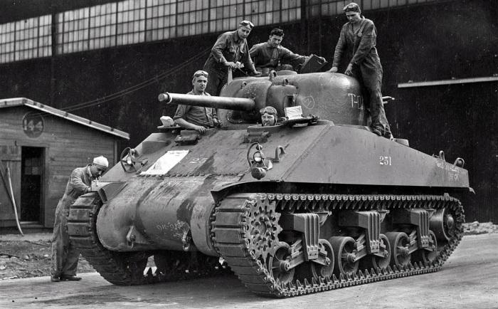 Качество сборки и боеприпасов американских танков было достаточно высоким / Фото: armyinform.com.ua
