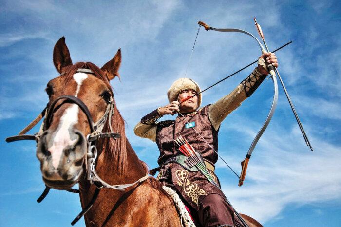 Известный монгольский лук стал главным оружием, благодаря которому кочевники и получили столь впечатляющий результат / Фото: tehrantimes.com