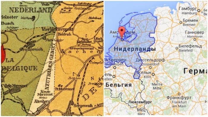 В состав Бельгии эта страна вошла в 1944 году, так ее попросту стерли с карт Европы / Фото: klaipeda1945.org