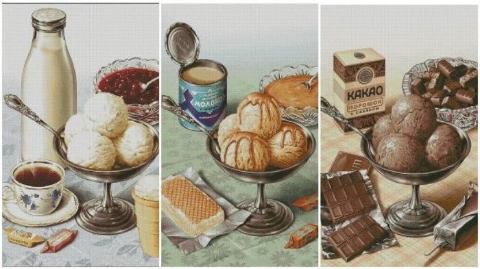 Ассортимент мороженого расширялся с каждым годом / Фото: yandex.ua