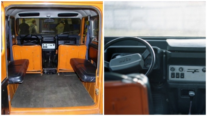 Салон автомобиля трудно назвать комфортным / Фото: news.drom.ru