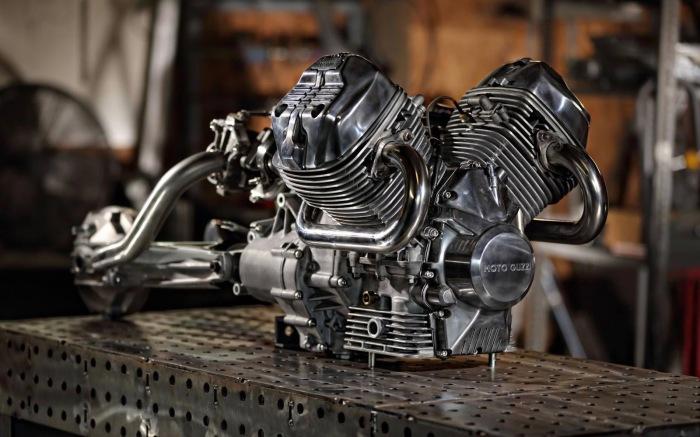 Отсутствие производителей комплектующих, в частности двигателей / Фото: caferacer10.blogspot.com