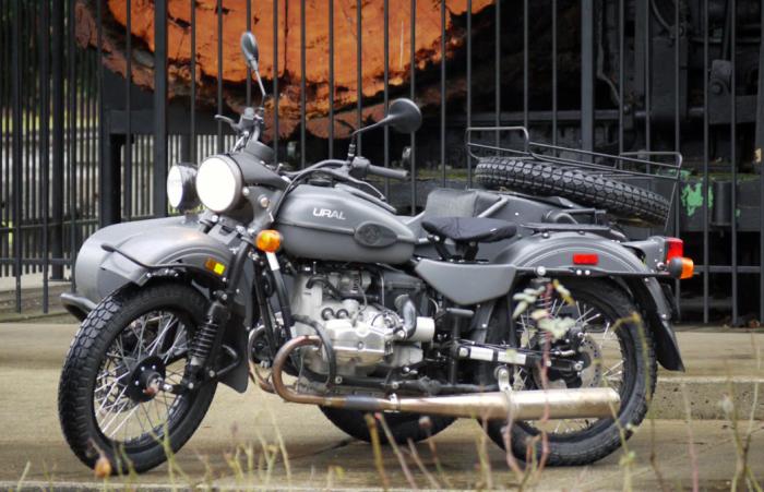 Популярный мотоцикл URAL GEAR UP с коляской, который почти полностью идет на экспорт в Америку / Фото: ads-rds.blogspot.com