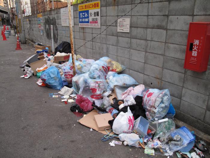 Еще 50 лет назад на улицах Японии возвышались горы мусора / Фото: liveinternet.ru