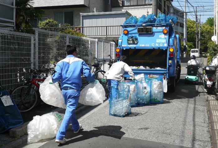 Вывоз разных категорий мусора осуществляется по определенным дням / Фото: greenbelarus.info