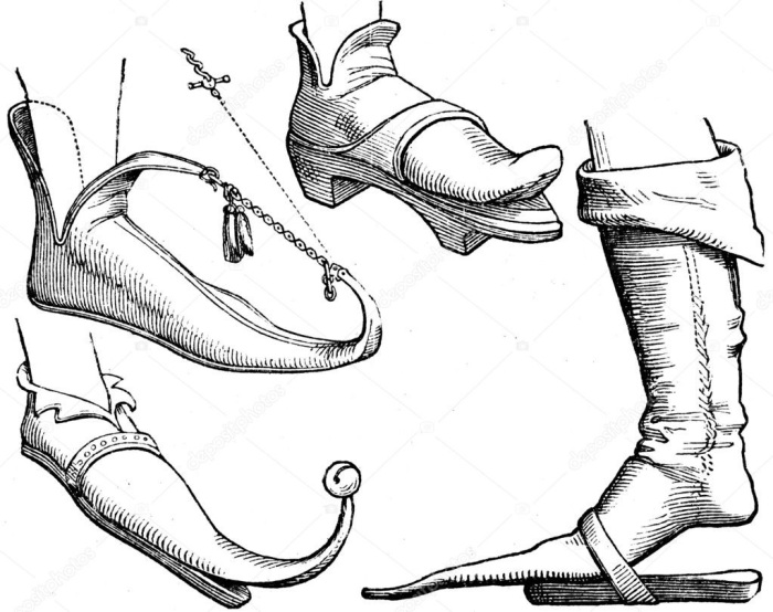 Чтобы в пуленах было удобно ходить, носок можно было приподнимать при необходимости / Фото: ua.depositphotos.com