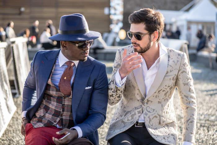 Сегодня мужские шляпы являются стильным аксессуаром / Фото: fotoelle.com