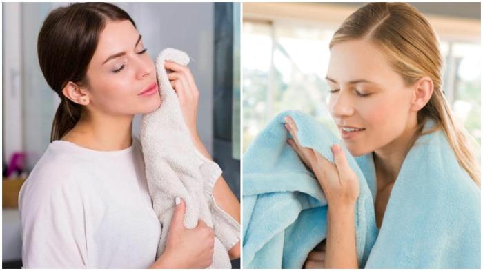 Жестким махровым полотенцам можно вернуть былую мягкость / Фото: unilever.ie