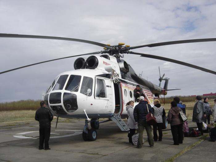 Авиатранспорт в Красном городе выполняет функцию маршрутных такси / Фото: flashnord.com