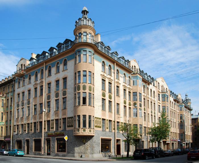 Дореволюционные дома существовали двух видов: доходные и особняки / Фото: skyscrapercity.com