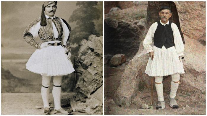 Почему греческие элитные гвардейцы более века ходят в юбках и смешной обуви с помпонами
