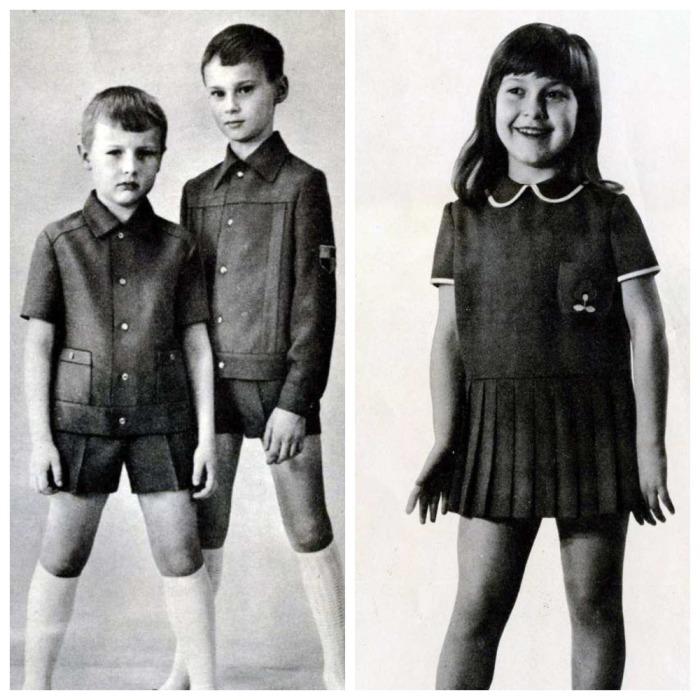 Коротенькие платьица или шортики считались нормой / Фото: grafamania.net
