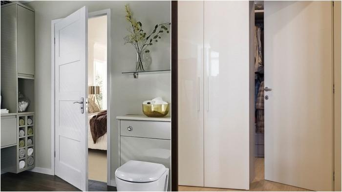 Если дверь открывается внутрь помещения, то это может создать неудобства для хозяина / Фото: domstroika.ru