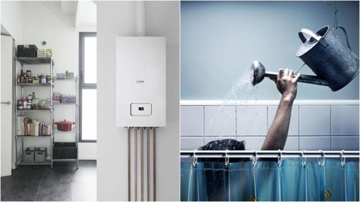 Чем дальше от ванной расположен котел, тем дольше будет прогреваться вода / Фото: 4s-info.ru