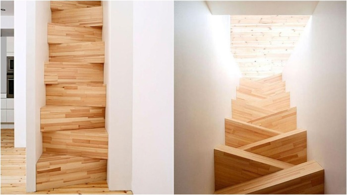 Если в проекте места под лестницу отведено мало, то она будет слишком крутая и неудобная для жильцов / Фото: you-journal.ru