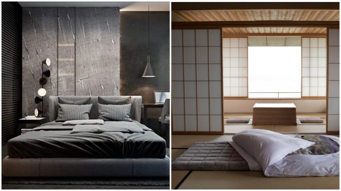 В отличие от российских граждан, жители Японии предпочитают спать на матрасах, размещенных на полу / Фото: mykaleidoscope.ru