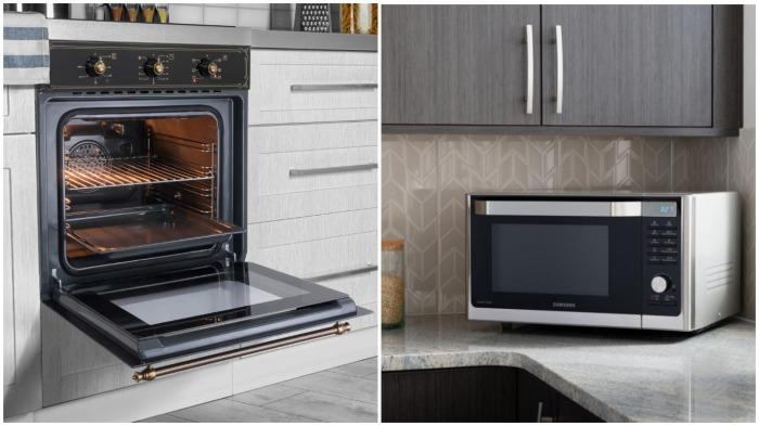 Зачем использовать громоздкую духовку, если можно приготовить и разогреть еду в микроволновке / Фото: goods.ru