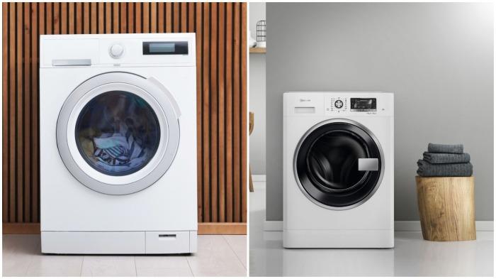 Жители Японии предпочитают стиральные машинки с функцией сушки белья / Фото: yandex.ua