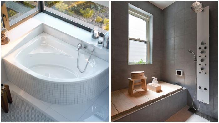 Прежде чем искупаться в ванной, японцы принимают душ - чистую воду можно использовать повторно / Фото: imall.com