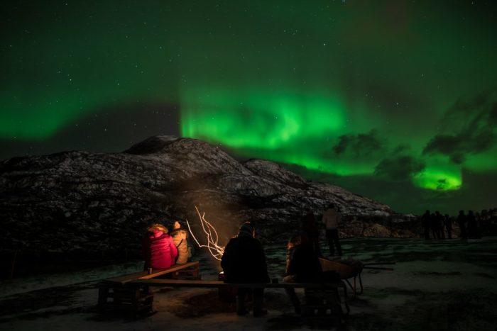 В период полярных ночей жители и гости острова могут наблюдать северное сияние / Фото: ukrainianwall.com