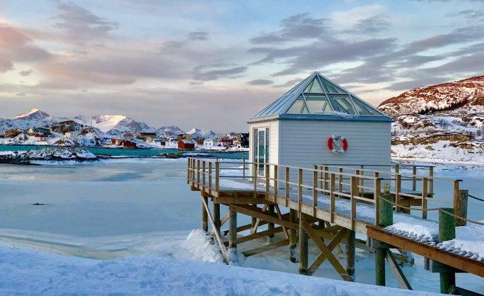 С ноября по январь здесь дни сменяются полярными ночами / Фото: twitter.com