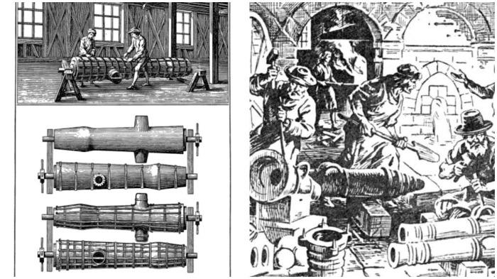 Процесс изготовления пушек состоял из нескольких этапов / Фото: diary.ru