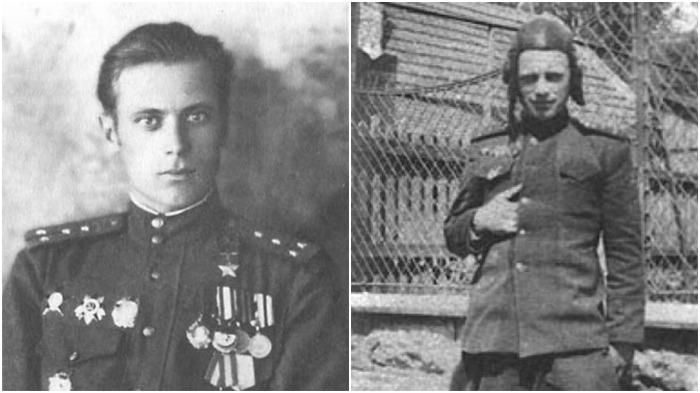 Дмитрий  Лоза - советский офицер, танкист времен Великой Отечественной войны, Герой Советского Союза / Фото: s30207256605.mirtesen.ru