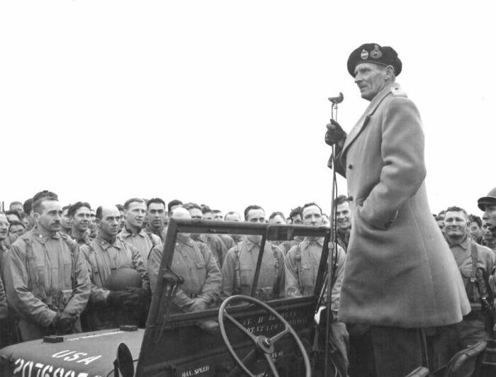 США, Англию и Францию больше впечатлила Нормандская операция, о которой поведал в своем докладе Бернард Лоу Монтгомери / Фото: Pinterest