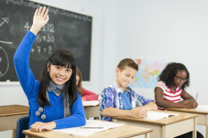Ученические столы, рассчитанные на одного человека, используются не только в Америке / Фото: kidsvisitor.com