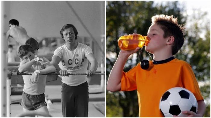 Почему в СССР пить воду во время и после тренировки запрещали, а сегодня ее пьют литрами